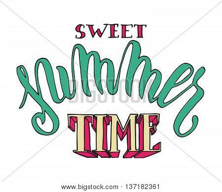 Sweet Summertime Poster
