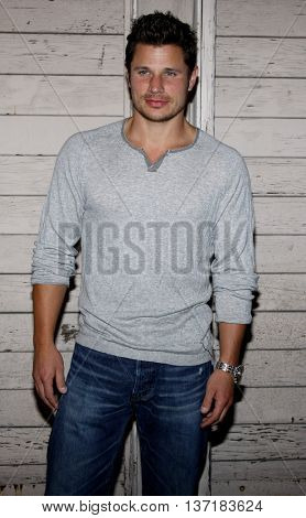 Nick Lachey at the Maxim's 2008 Hot 100 Party held at the Paramount Studios in Hollywood, USA on May 21, 2008.
