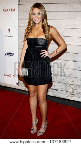 Amanda Bynes at the Maxim's 2008 Hot 100 Party held at the Paramount Studios in Hollywood, USA on May 21, 2008.