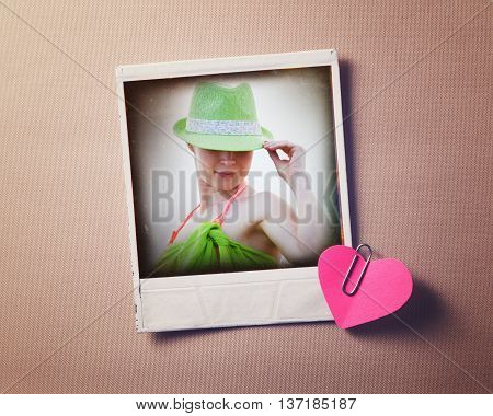 Elegant woman. Retro fashion vintage portrait of beautiful woman in hat.