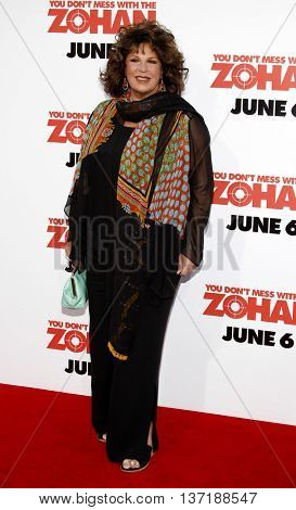 Lainie Kazan at the World premiere of 'You Don't Mess With The Zohan' held at the Grauman's Chinese Theater in Hollywood, USA on May 28, 2008