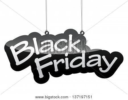 This is vector tag background black friday