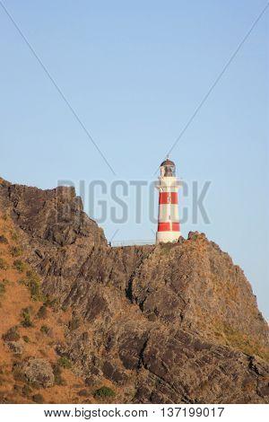 lighthouse at Cape Palliser, North Island, New Zealand