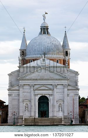 Church Of The Most Holy Redeemer In Venice, Italy
