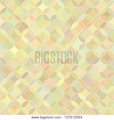 Abstract seamless rosette colorful pastel pattern. Design element for background, textile, paper packaging, wrapping paper and other. Vector illustration.