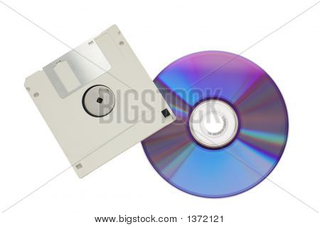 Cd-Rom And Floppy