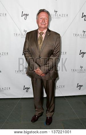 NEW YORK-JUN 25: Walter Naegle attends Logo TV's