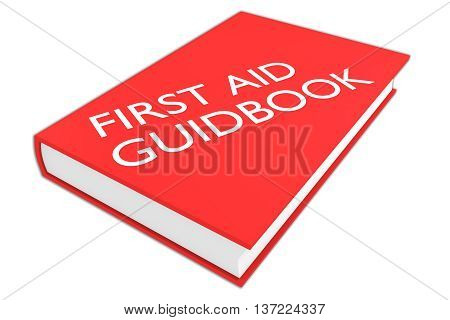 First Aid Guidebook Concept