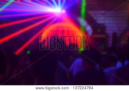 Light blur club party background texture pattern