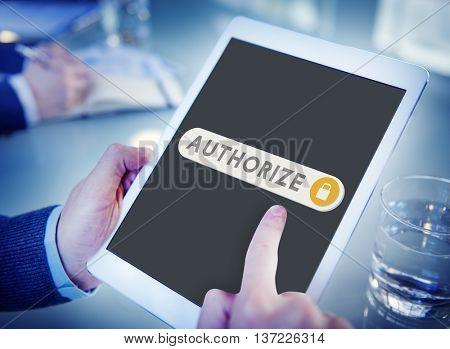 Authorize Accessible Permission Verification Security Concept