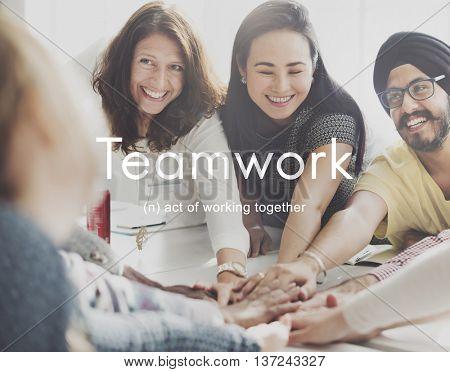 Teamwork Alliance Collaboration Company Team Concept