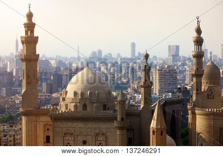 Mosque-Madrassa of Sultan Hassan. Cairo. Egypt