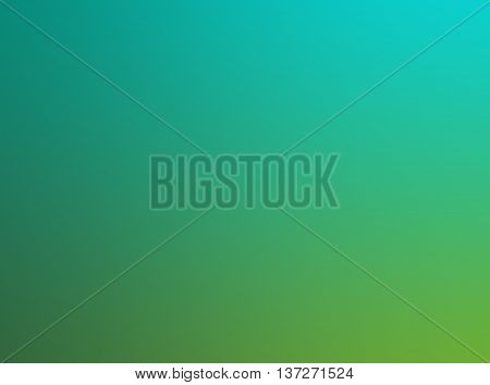 Blurry abstract green and turquoise background gradient