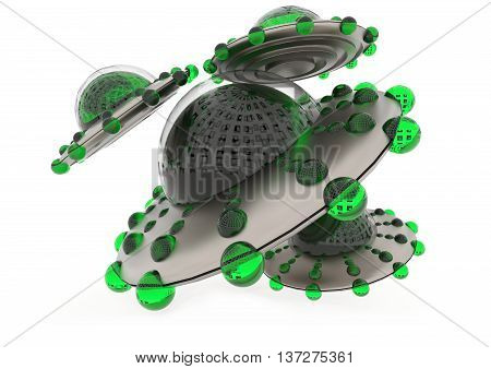 3D Unidentified Odjects Concept