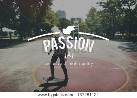 Passion Attraction Inspiration Inspire Behavior Concept