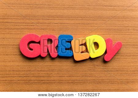 Greedy Colorful Word
