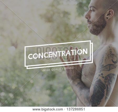 Concentration Concentrate Focus Attention Interest Concept