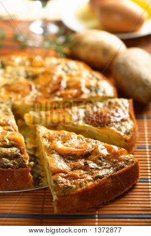 Casserole Made From Potatoes