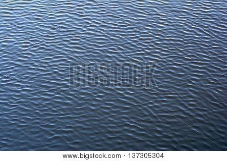 dark blue wavy water surface texture background