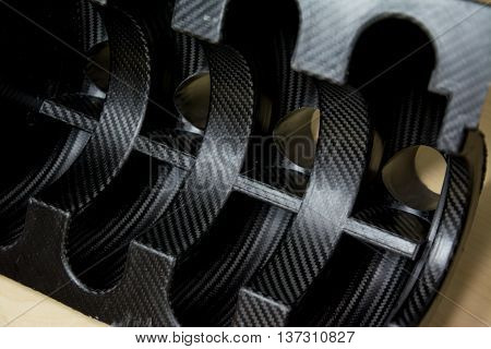 carbon fiber composite material for industry background