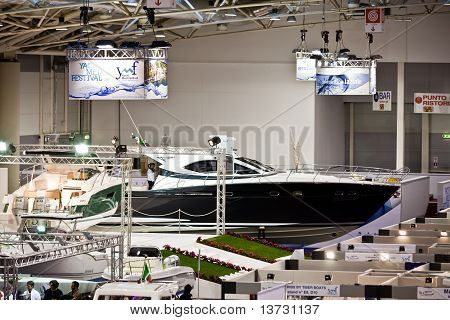 The Hall Of Yachts - Big Blue Sea Expo, Rome, 2011
