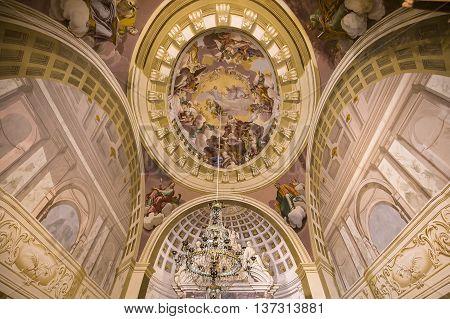 Interiors And Details Of Pisa Charterhouse, Pisa, Italy