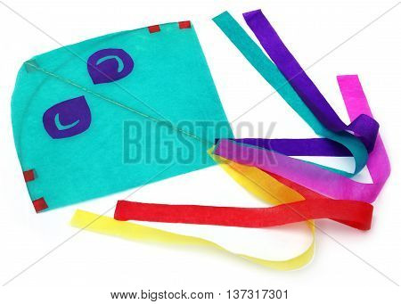 Traditional Bangladeshi kite made of thin papers