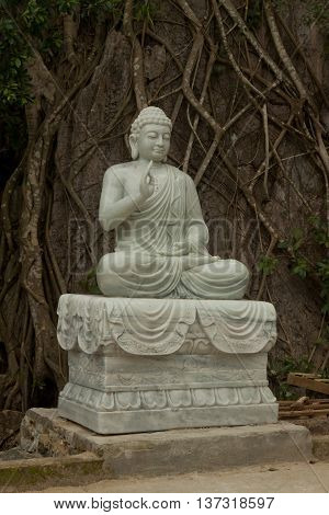 Statue of Buddha Marble Mountains Danang, Vietnam, Asia