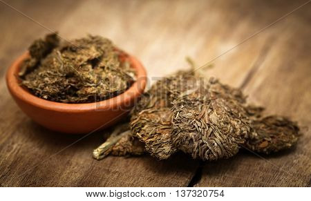 Medicinal cannabis or marijuana used as legal drugs in many countries
