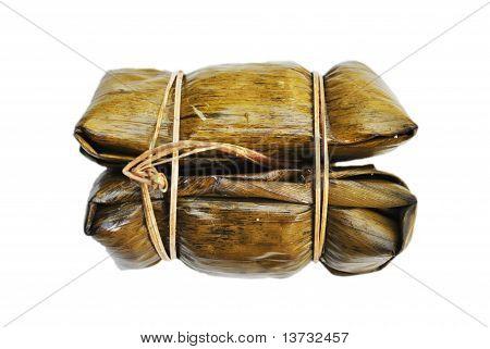 Dry Banana Leaf