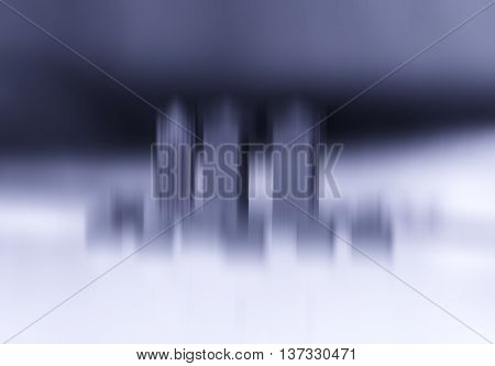 Toy office skyscrapers motion blur abstraction bokeh background