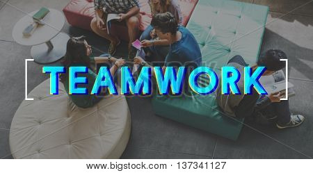 Teamwork Agreement Alliance Collaboration Unity Concept