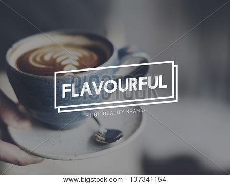 Flavorful Coffee Relaxing Break Time Rest Concept