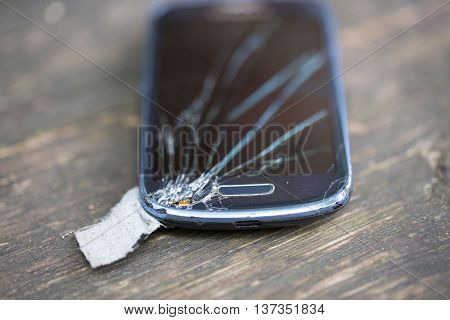 broken display from phone, faulty mobile phone
