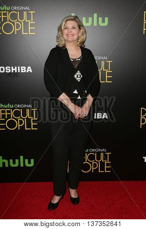 NEW YORK-JUL 30: Actress Debra Monk attends the Hulu Original Premiere of 'Difficult People' at the SVA Theater on July 30, 2015 in New York City.