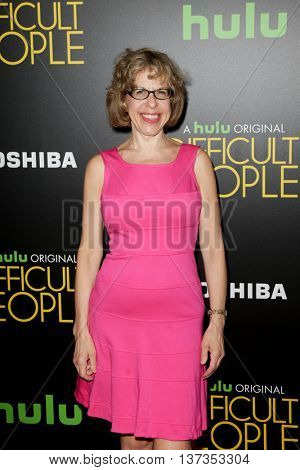 NEW YORK-JUL 30: Jackie Hoffman attends the Hulu Original Premiere of 'Difficult People' at the SVA Theater on July 30, 2015 in New York City.