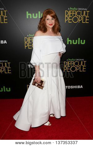 NEW YORK-JUL 30: Actress Julie Klausner attends the Hulu Original Premiere of 'Difficult People' at the SVA Theater on July 30, 2015 in New York City.