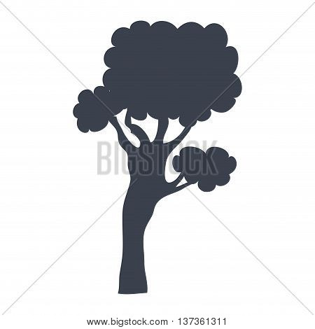 Ecology and nature plant isoalted icon, vector illustration graphic design.