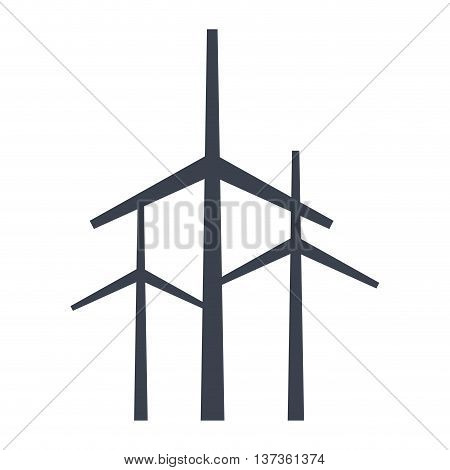 Renewable energy eco theme design, vector illustration graphic design.