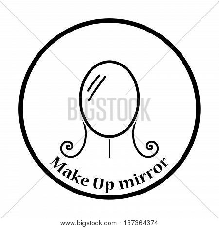 Make Up Mirror Icon
