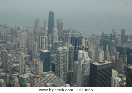 Chicago Scene From The Sears Towers