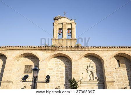 la Purísima Concepción Conventual church in Hinojosa del Duque, Córdoba, Spain