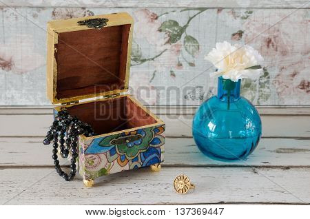 Decoupage Trinket Box