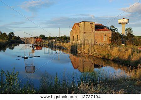 Farm House And Canal