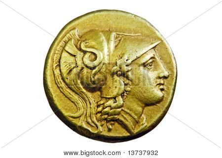 Ancient Greek Gold Coin