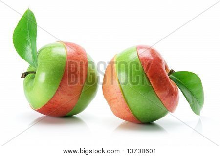 Granny Smith And Gala Apples