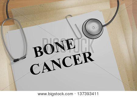 Bone Cancer Medical Concept