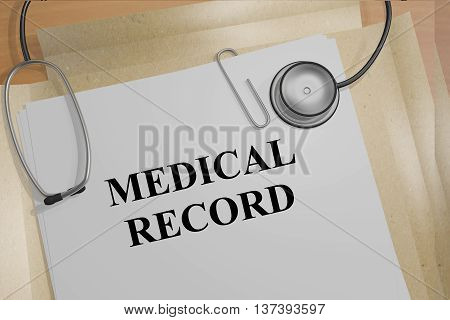 Medical Record Concept