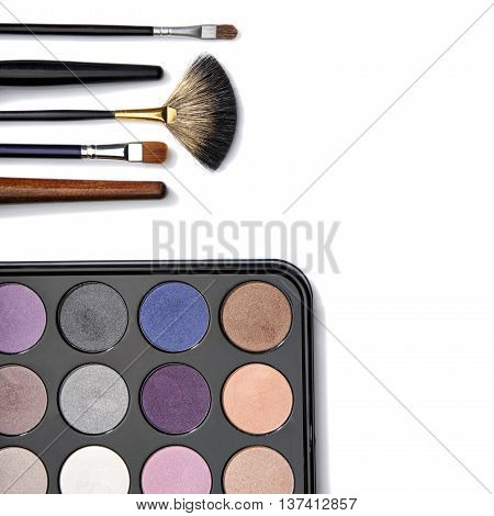 Eyeshadow And Make-up Brushes