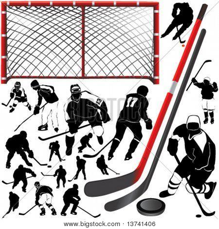 hockey vector 2